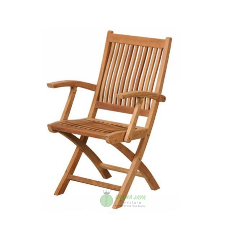 Kiffa Arm Folding Chair